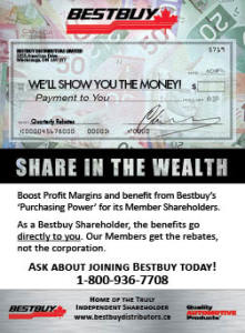 Why Bestbuy? Share in the Wealth