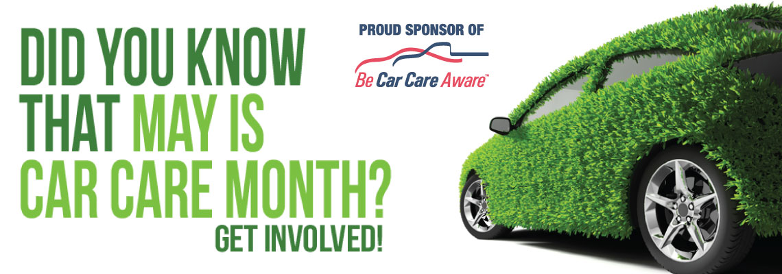 May is BeCarCareAware Month