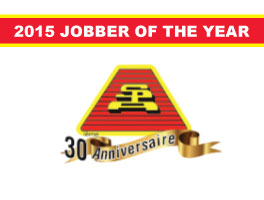 Dorval Auto Parts awarded 2015 Jobber of the Year!