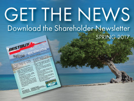 Shareholder Spring 2017 Newsletter