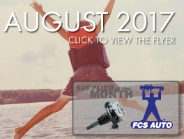 The August 2017 Flyer is Out Now