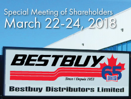 Bestbuy Special Meeting of Shareholders