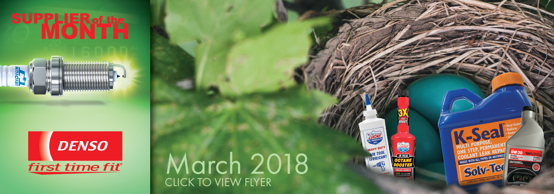The March 2018 Flyer is Out Now