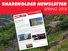 Shareholder Spring 2018 Newsletter