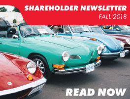 Fall 2018 Shareholder Newsletter