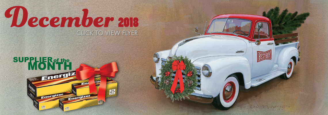 The December 2018 Flyer is Out Now