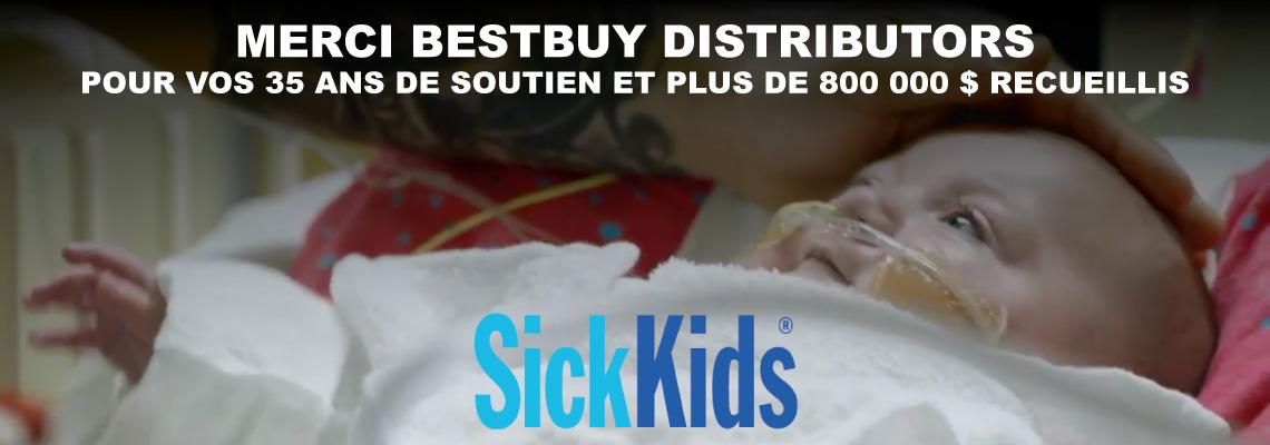 Aidez à soutenir SickKids!